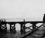 jetty-before-extension-venus-bay-history | Venus Bay Beachfront Tourist Park