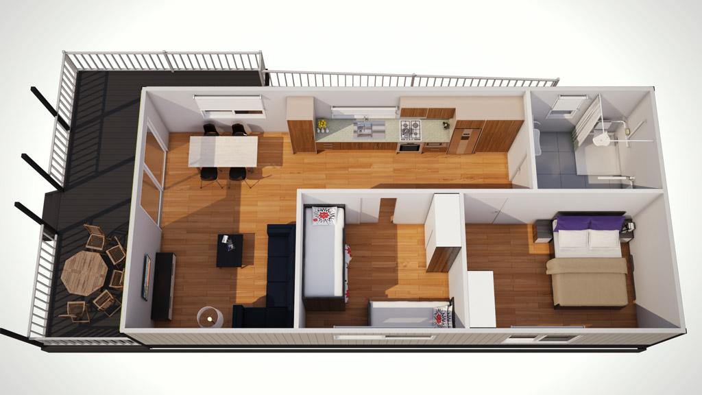 seahorse cabin 6